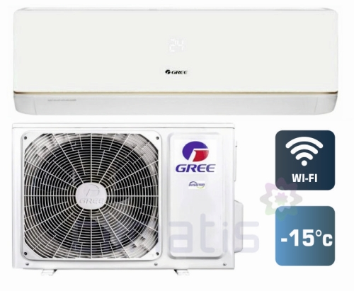 Кондиционер GREE Bora DC inverter GWH24AAD-K3DNA5A + Wi-Fi