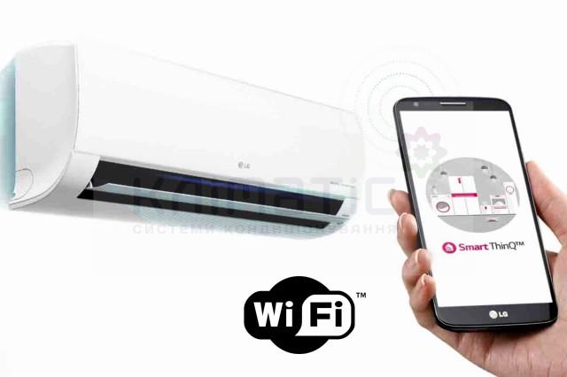 Кондиционер LG Deluxe - WiFi