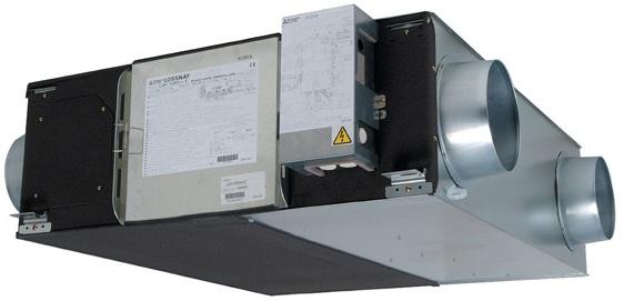 Канальная приточно-вытяжная установка Mitsubishi Electric lossnay LGH-15RX5-E