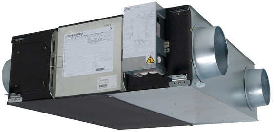 Канальная приточно-вытяжная установка Mitsubishi Electric lossnay LGH-100RX5-E