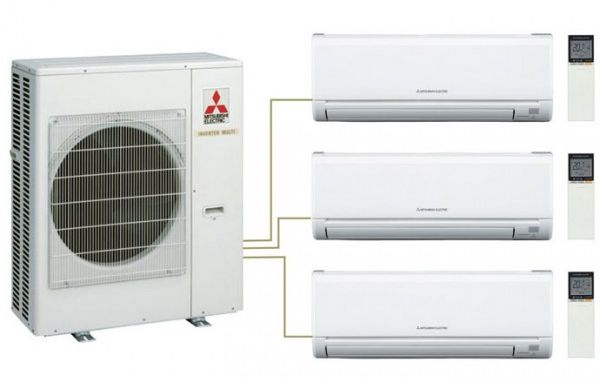 Наружные блоки Mitsubishi Electric