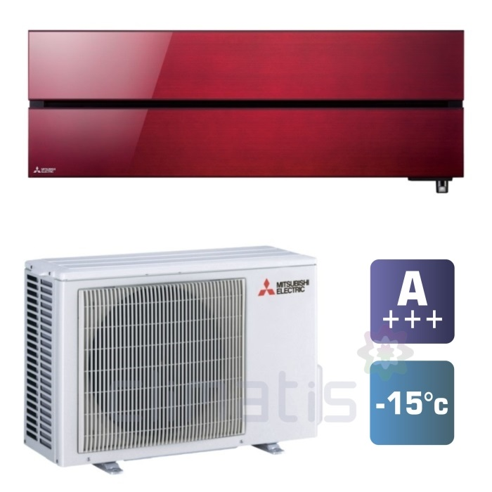 Mitsubishi Electric Premium Red