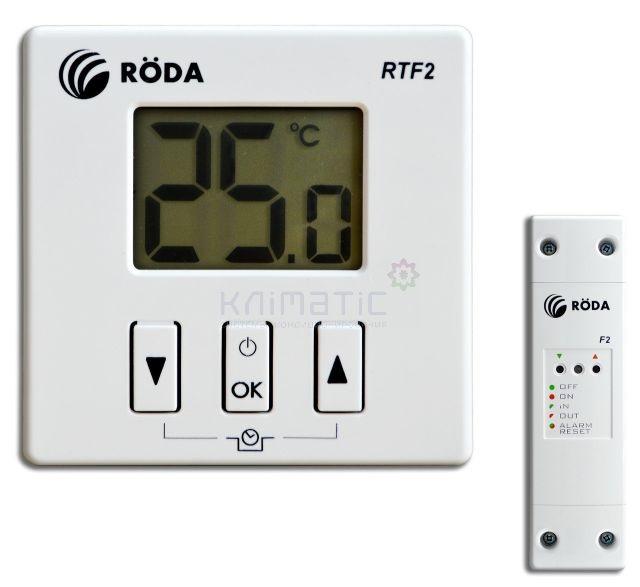 Комнатный беспроводной термостат RODA RTF2
