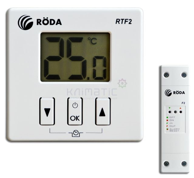 Комнатный термостат RODA RTF2
