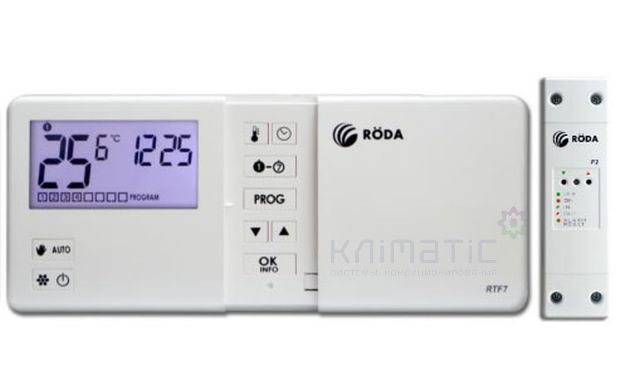 Комнатный термостат RODA RTF7