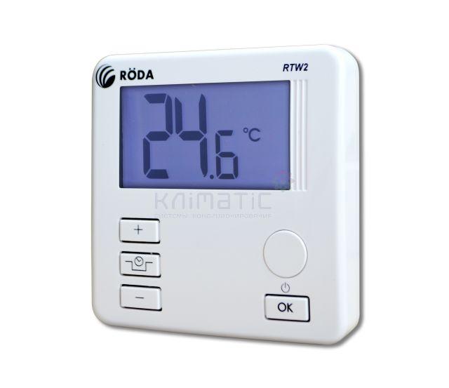 Термостат комнатный RODA RTW2 проводной