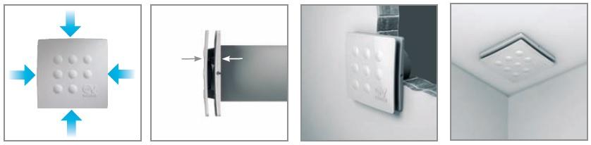 схема подключения бытового вентилятора воздуха для ванной комнаты и санузла