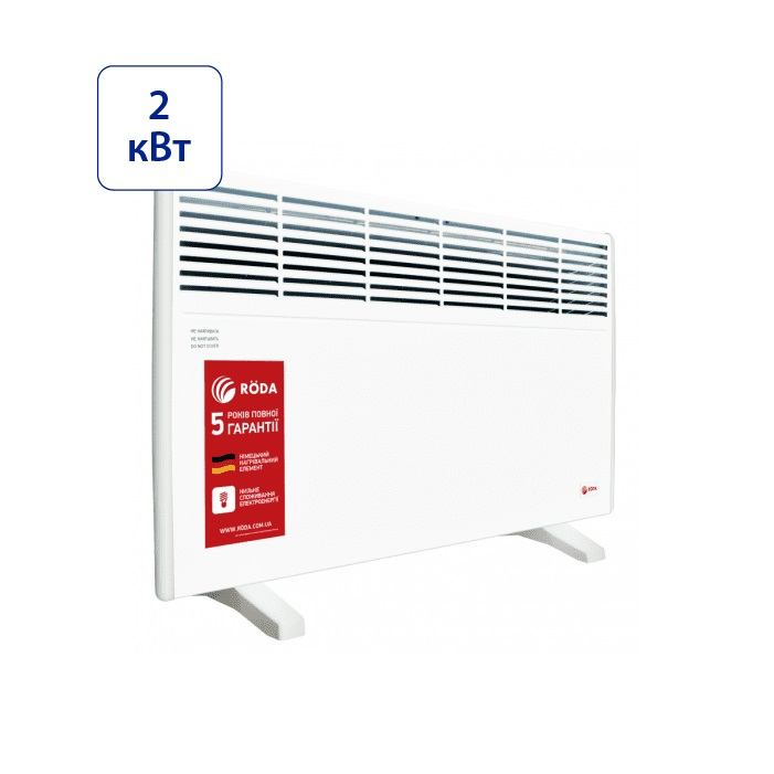 Электрический конвектор Roda Standard RSP-2000