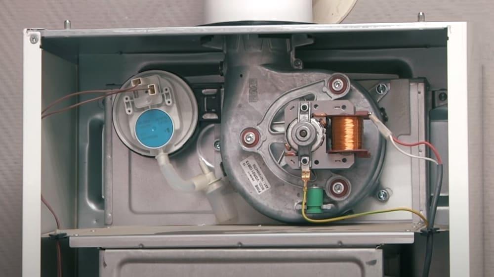 Открытая камера сгорания газового котла