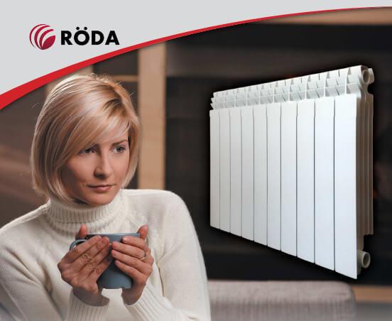 Алюминиевые радиаторы RÖDA FORCE