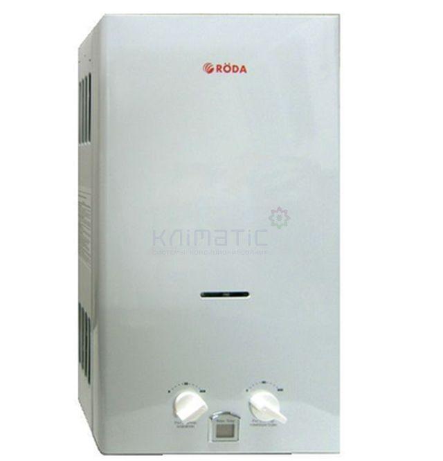 Газовый проточный водонагреватель RODA JSD20-A1
