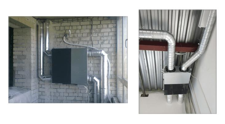 Монтаж канально приточно-вытяжной установки Neoclima NMW