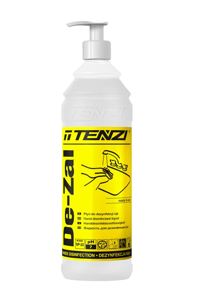 De-Zal - 1 л - средство для дезинфекции рук