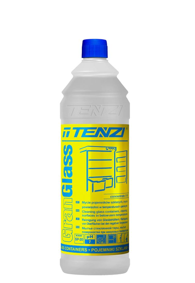Gran Glass TENZI 1л средство для мытья холодильников и морозильников