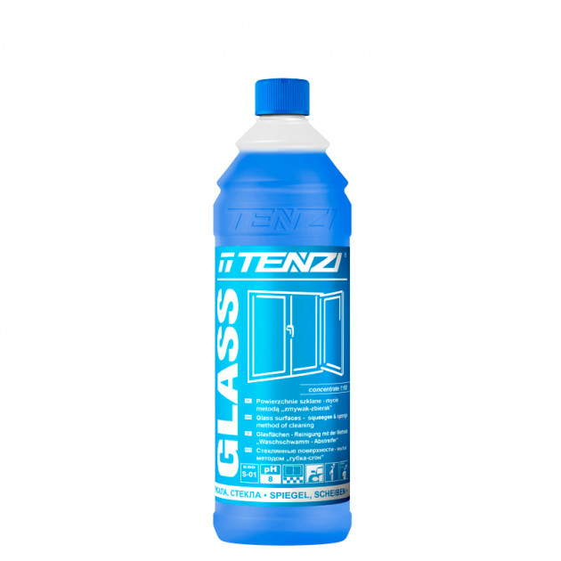 GLASS TENZI 1 л - средство для мытья окон, стекла и зеркал